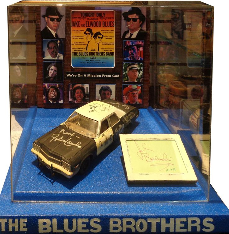 Blues Brothers - Signed Display Case