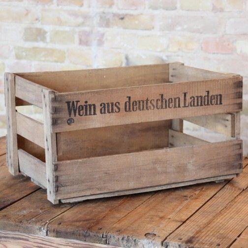 25 best ideas about alte weinkisten on pinterest. Black Bedroom Furniture Sets. Home Design Ideas