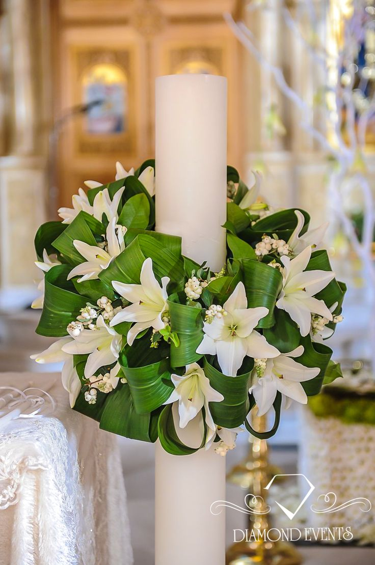 #Minimal #wedding #candles decorated with white #flowers. For more inspiration visit: www.diamondevents.gr  You can also find us on: https://instagram.com/diamond_event_planners/ https://twitter.com/Diamond_Events_ https://www.facebook.com/pages/Diamond-Event-Planners/176242063682 https://www.pinterest.com/diamondwedding/