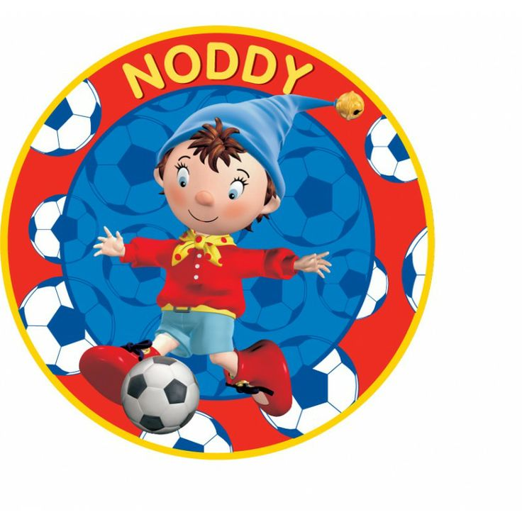 Noddy Circle Shaped Cushion - Soccer [TSSTNCCF] - ₹299.00 : Toyzstation.in, The online toys store