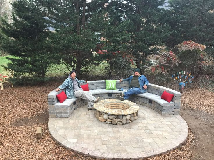 1000 Ideas About Fire Pit Seating On Pinterest Fire