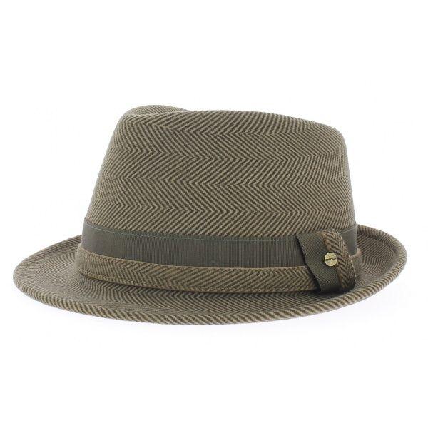 chapeau trilby randolph stetson marron, chapeau feutre - 69 euros -  chapellerie traclet