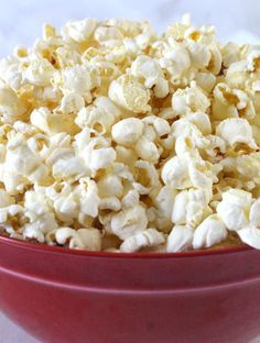No more Microwave Popcorn! We show you How to Make Perfect Popcorn on the Stovetop every single time. Fluffy, crunchy and delicious, you won't believe how easy it is to make the best homemade popcorn on the stove. It's better than Movie Theater Popcorn! Follow us for more great Popcorn recipes.