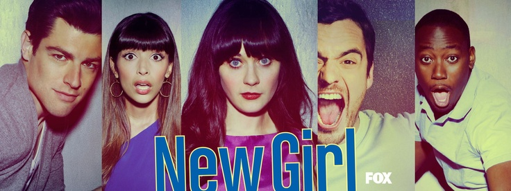 New Girl makes me smile and laugh, sometimes it may even make me giggle