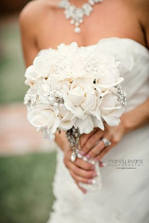 Hey, I found this really awesome Etsy listing at https://www.etsy.com/listing/210531601/ivory-rose-or-white-rose-brooch-bouquet