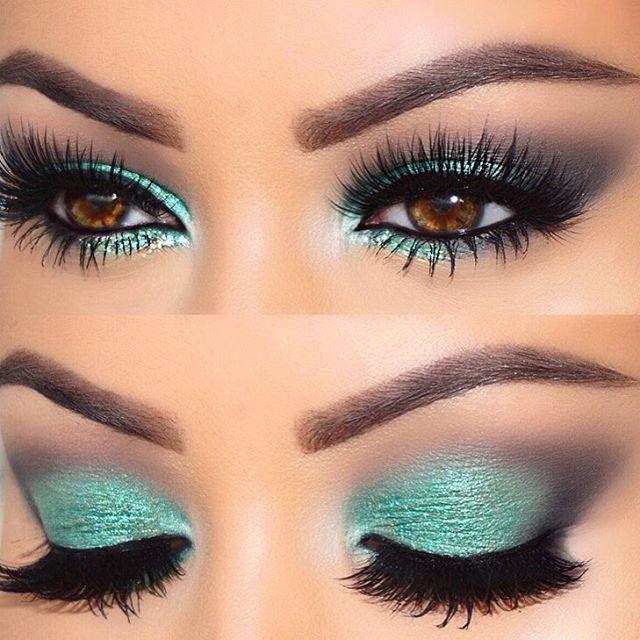 Dramatic Eyeshadow For Brown Eyes Makeupview