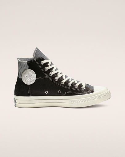 27aef356 Chuck 70 Retro Stripe High Top in 2019 | Shoes | Black high top ...