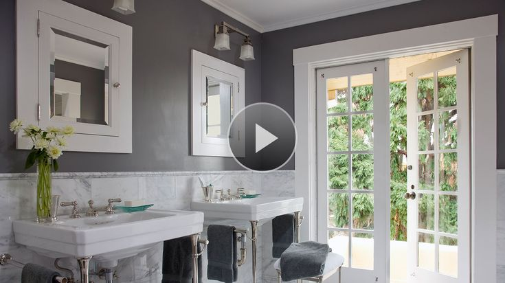 See the bathroom paint colors we love and get inspired to try a new hue!