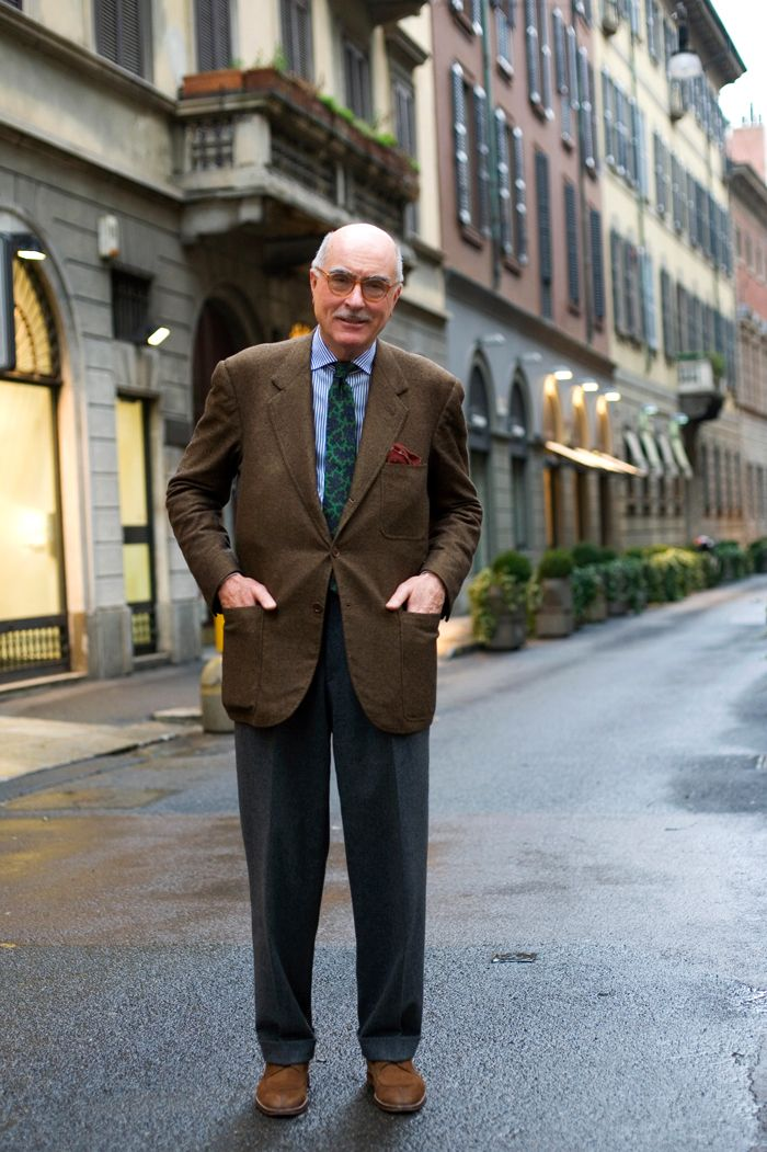 On the Street…Mr. Luciano Barbera, Milano « The Sartorialist