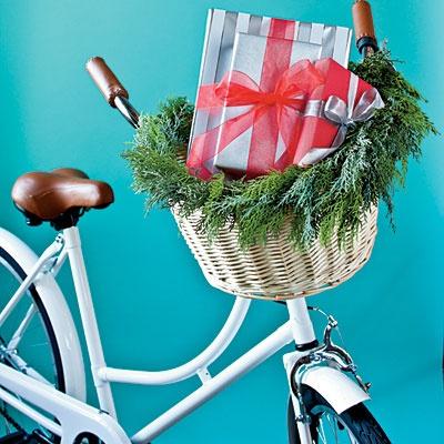 Bike from cwonder.com; $249, Basket from electrabike.com; $29.99