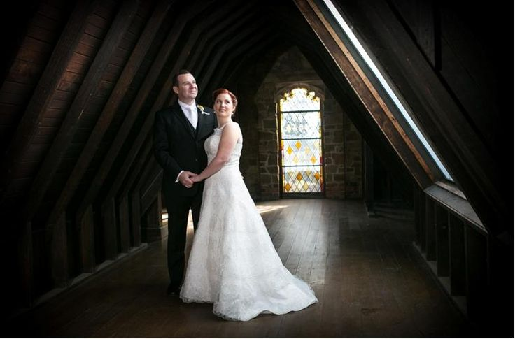 Laura & Dean's Montsalvat wedding by Gavin D Photography with Marriage Celebrant Melbourne   Meriki Comito