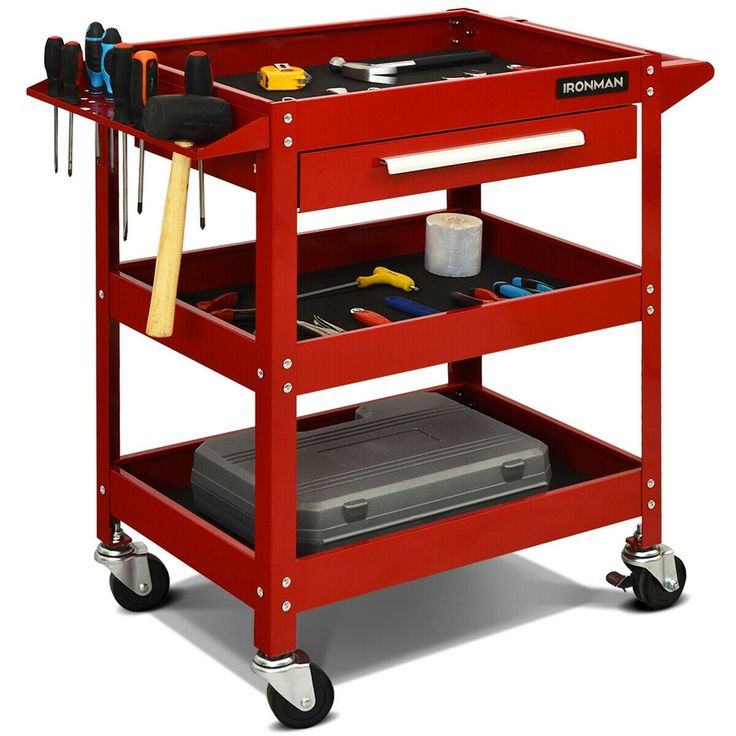 Mechanic work table truck tire dolly