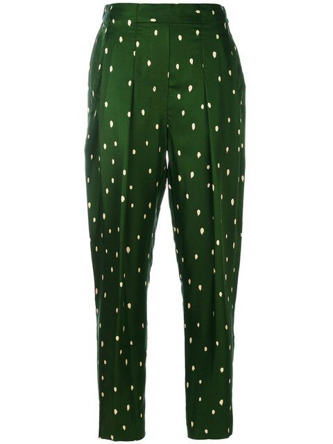 3.1 PHILLIP LIM Polka Dot Tailored Trousers. #3.1philliplim #cloth #trousers