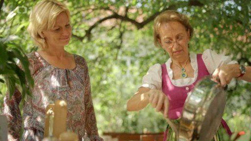 Salát paní Christine — Kouzelné bylinky: Tradice pod Alpami