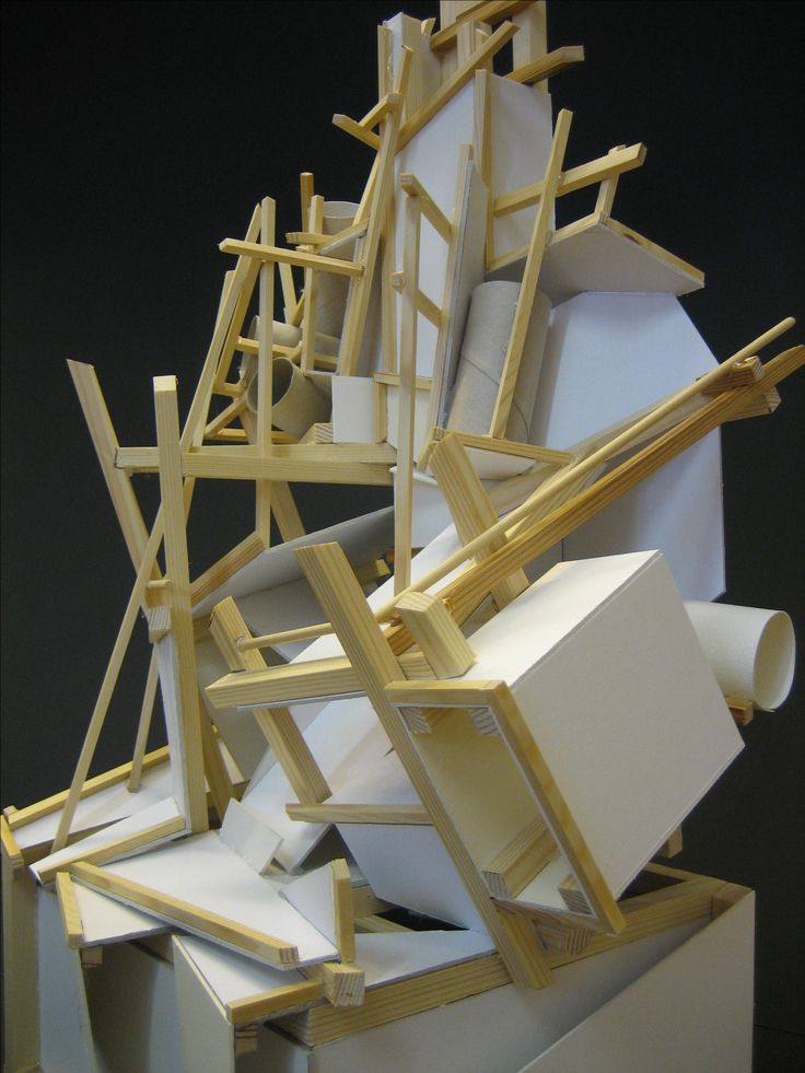 STACK Sculpture Model - Detail.
