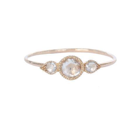 Myrtille Beck Paris- Rosecut Diamonds engagement ring - Bijoux de créateurs, Bagues de fiançailles créateur, Bijoux fins Paris- Diamants rosecut