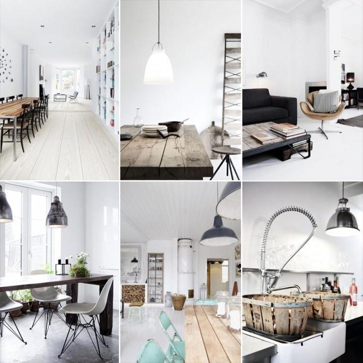 41 beste afbeeldingen over scandinavisch wonen op for Industrieel interieur
