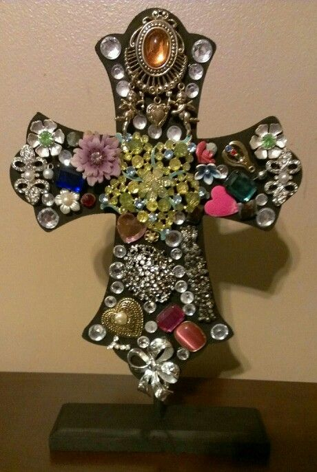 Painted Wooden Crosses Craft Ideas