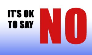 Many people find it hard to say no to other people for one reason or the other. Its not always easy to take a firm step and say no. There are many reasons for t