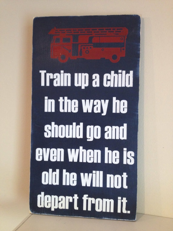 Boyu0027s Firetruck Quote Sign Hand Painted By Sugarcoatedsentiment, $40.00