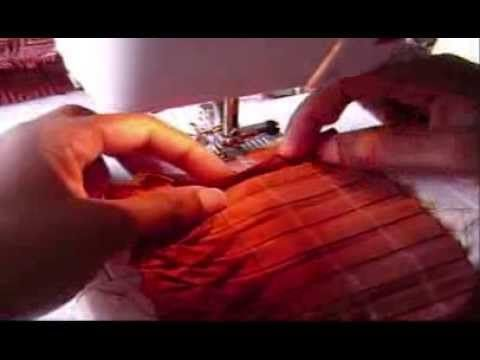 Mexican Pleating Tutorial by MissPrettyPerfect - YouTube