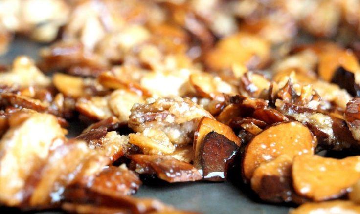 Amêndoas Caramelizadas no Iguaria Receita e Dica de Culinária