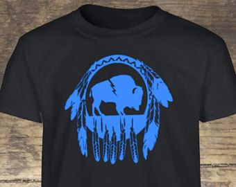Buffalo Shirt - Dream Catcher Shirt - Bison Shirt - Oklahoma Shirt - Tribal Shirt - Native American Shirt - Gypsy, Indian- Free Spirit