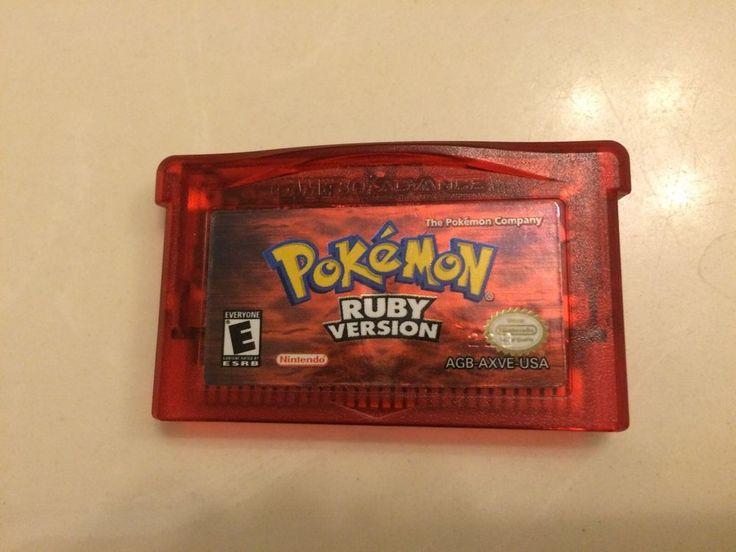 Pokemon Ruby Version GBA Nintendo Game Boy Advance 2003 Tested Working | eBay