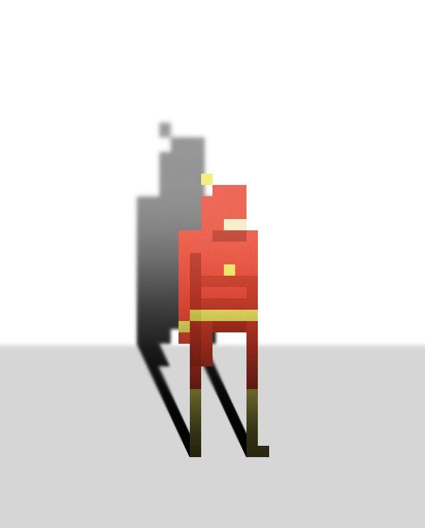 Pixel Art Super Heroes