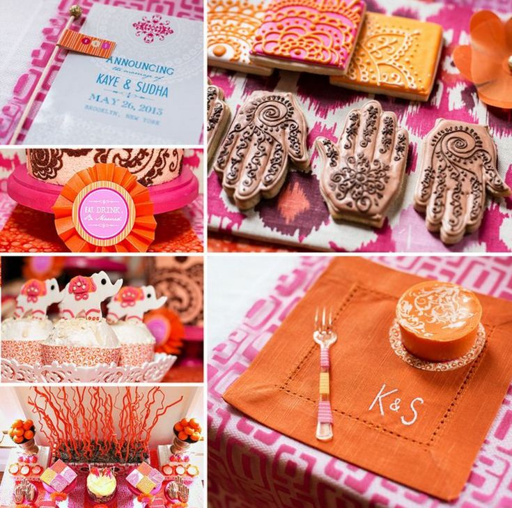 indian engagement party theme ideas