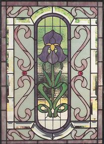 8 best window film images on pinterest faux stained for Victorian stained glass window film