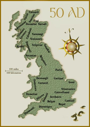 Celtic Tribes of Roman Britain
