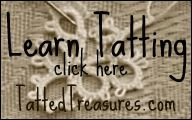 Great tutorials for each step of tatting (lots of videos included), and answers to common questions.  http://www.tattedtreasures.com/tutorials/  Her YouTube Channel  http://www.youtube.com/user/TattedTreasures