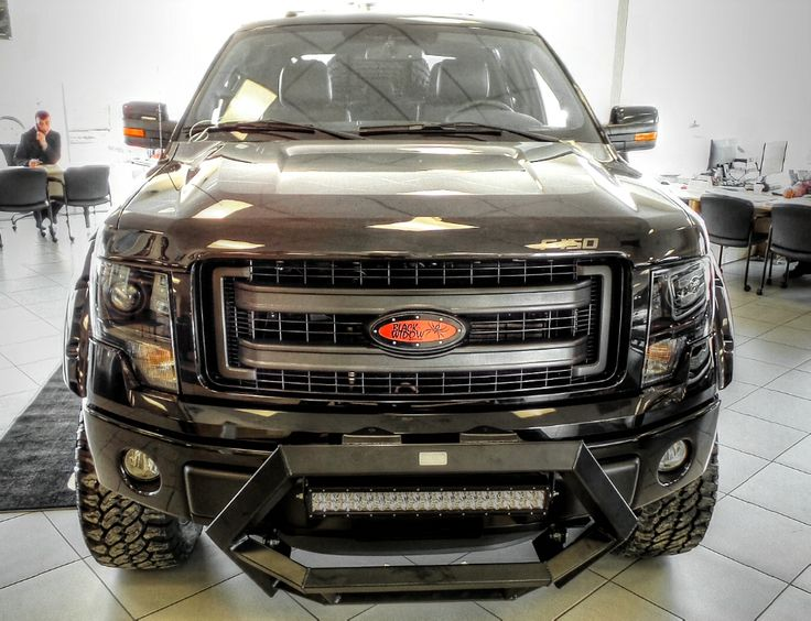"""FOR SALE: Kentwood Kustoms 2014 #Ford #F150 """"Black Widow ..."""