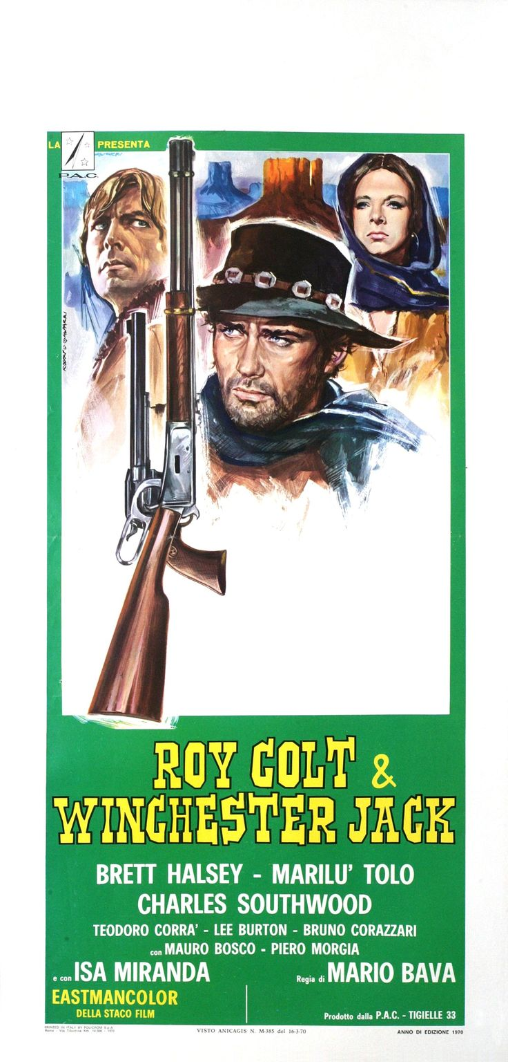 ROY COLT AND WINCHESTER JACK (locandina)