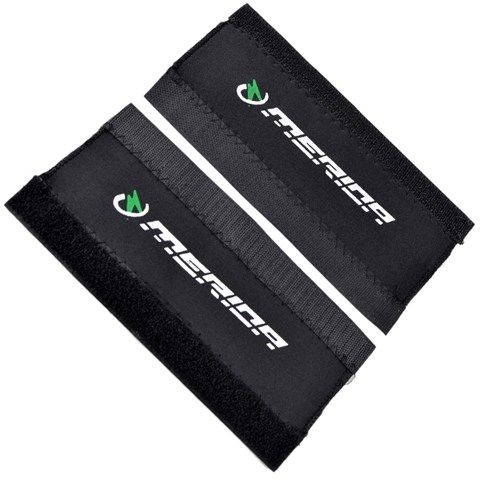 Bicycle Chain Stay Protector (Black) (2 pcs)