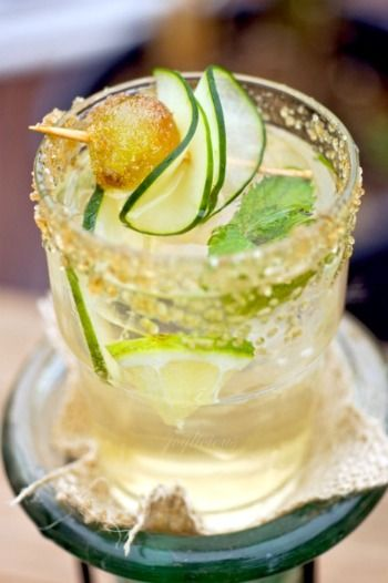 mint, cucumber, lime, vodka/gin...so many delicious cocktails to try this summer!