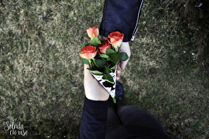 #Roses Bouquet. Creative Flowers Ideas.