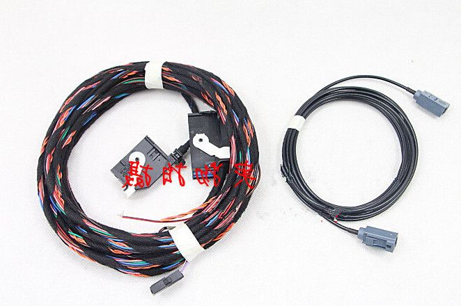 trajectory image Rear View  camera harness Wire  FOR VW  Volkswagen  TIGUAN  2011-2013