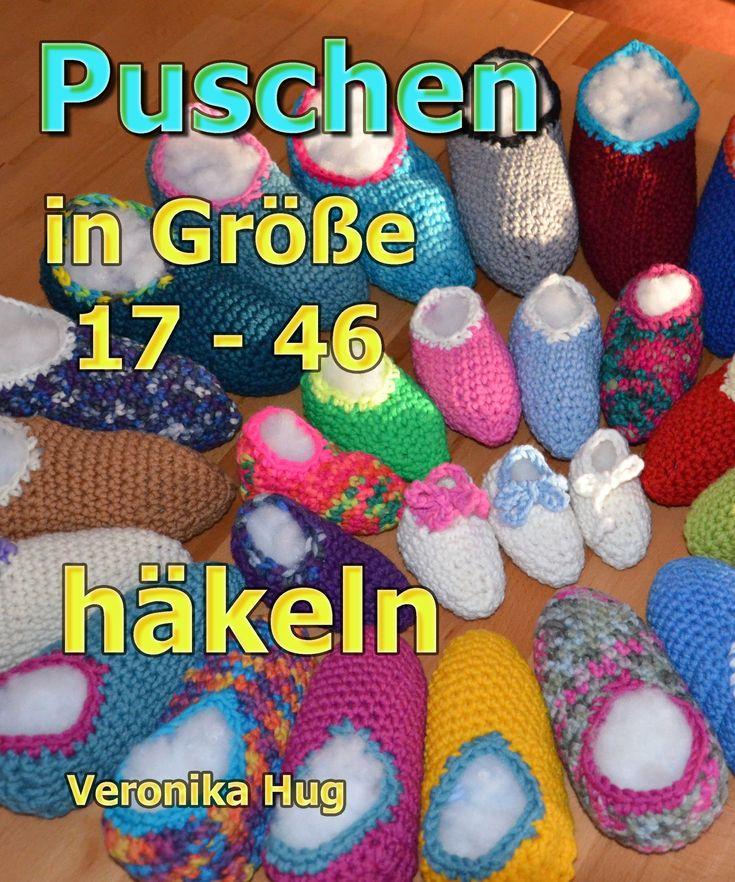 Puschen Häkeln in Größe 17 - 46 - Veronika Hug