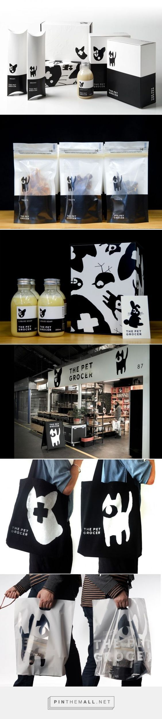 The Pet Grocer Packaging | Fivestar Branding – Design and Branding Agency & Inspiration Gallery