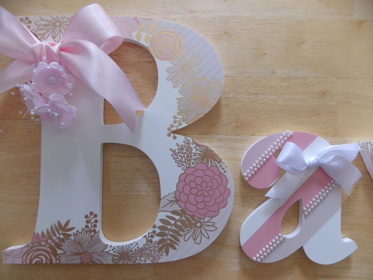 Custom Listing for Ronni ONLY-Pink, White & Gold Floral Set by CountingOurBlessings on Etsy