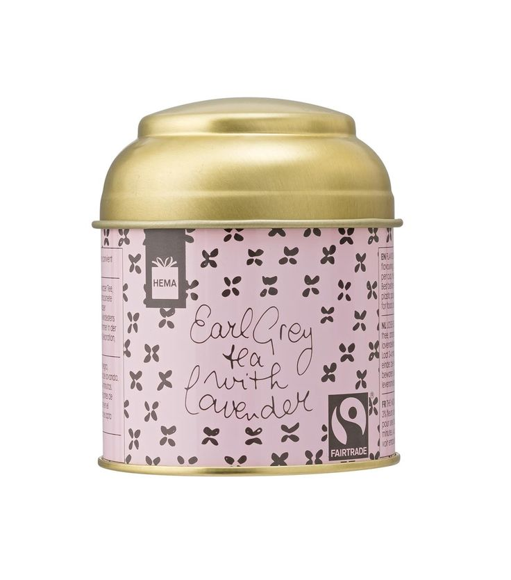 earl grey thee lavendel fairtade - HEMA