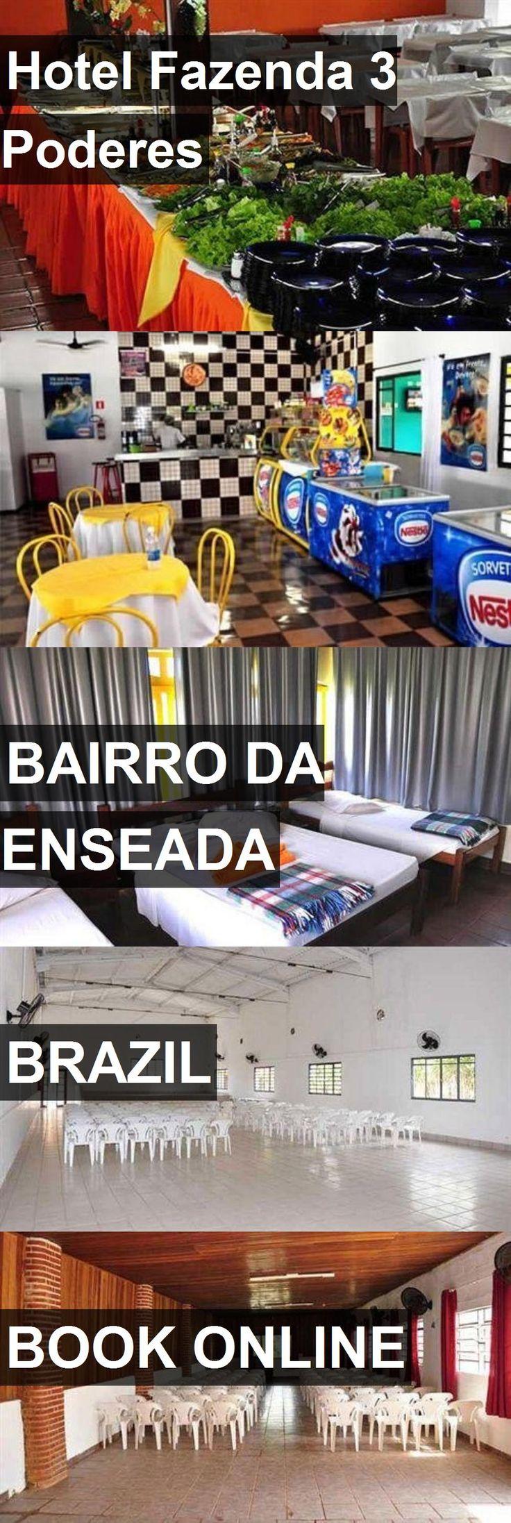 Hotel Fazenda 3 Poderes in Bairro da Enseada, Brazil. For more information, photos, reviews and best prices please follow the link. #Brazil #BairrodaEnseada #travel #vacation #hotel