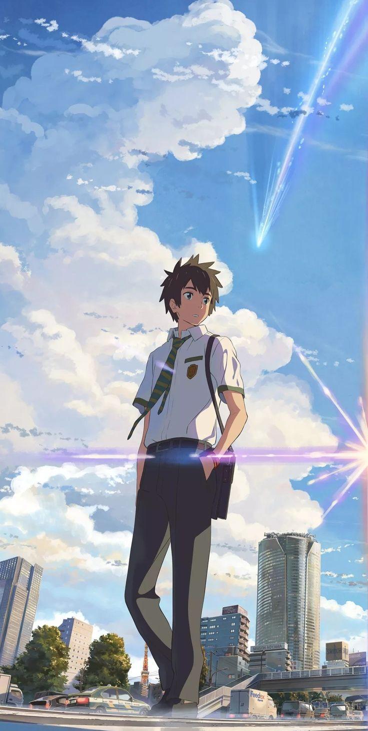 Pin oleh Polina di Kimi No Nawa di 2020 Gambar anime