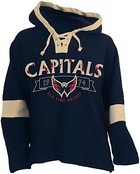 Old Time Hockey Washington Capitals Jetted Lace Hoodie - $60