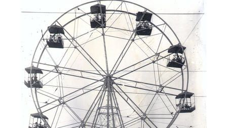 Built as a seaside resort for African-Americans in the days of segregation, Bay Shore Amusement Park was a neighbor of Buckroe Beach and featured such rides as this ferris wheel.