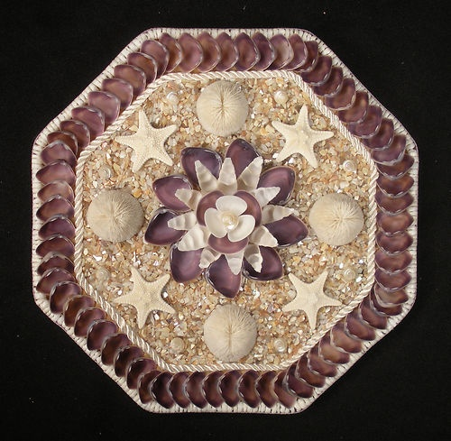 77 best images about mosaic with seashells on pinterest for Seashell mosaic art