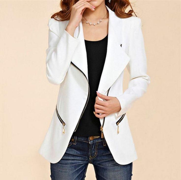 Dámský kabát se zipem křivák bílý – Velikost L Na tento produkt se vztahuje nejen zajímavá sleva, ale také poštovné zdarma! Využij této výhodné nabídky a ušetři na poštovném, stejně jako to udělalo již velké …