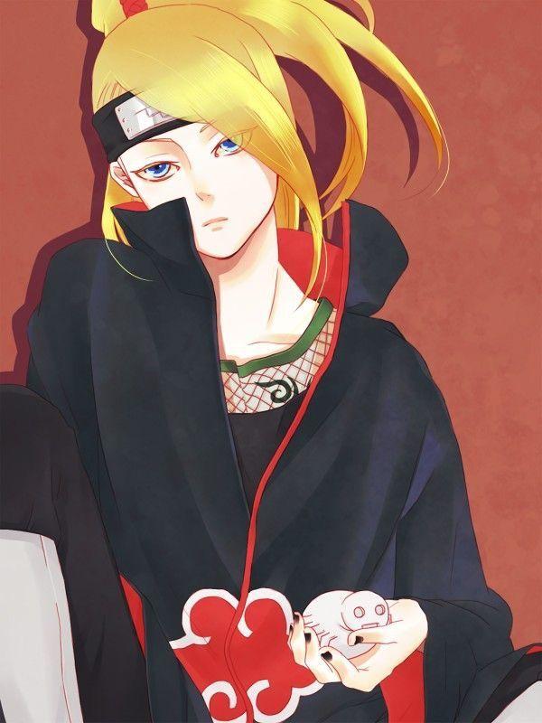 Pin de Tsubakyun em DEIDARA | Personagens de anime ...